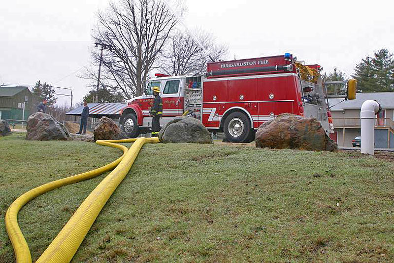 No need for dry hydrant; no obstacle too large for the standard TurboDraft