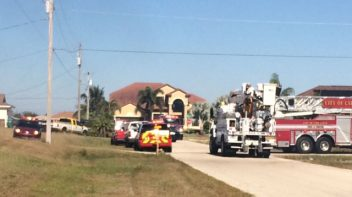 House fire in Cape Coral, Florida