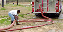 Fire department static water source evaluations